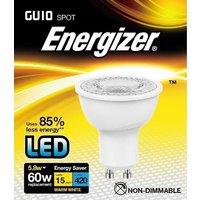 Energizer 5 8w 36deg LED GU10 3000K   S9405