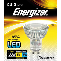 Energizer 5 5w 36deg Dimmable LED GU10 4000K   S9411