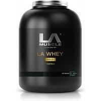 Image of LA Muscle LA Whey Gold 2 kg - Strawberry