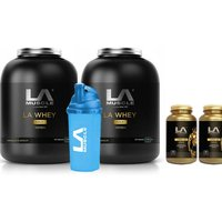 2 Months Norateen & LA Whey Gold