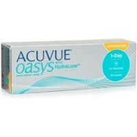 Acuvue Oasys 1-Day with HydraLuxe for Astigmatism, 30er Pack