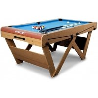 'Bce 6 Foot W Leg Folding Snooker & Pool Table (fspw-6)