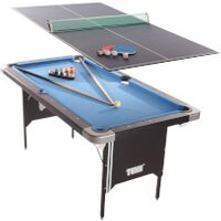 'Tekscore Folding Leg Pool Table With Table Tennis Top
