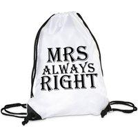 Turnbeutel Modell: MRS always right