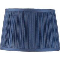 Endon Lighting 94387 Wentworth 8  Satin Silk Shade In Midnight Blue Finish