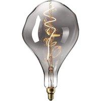 425905 Organic LED Lamp Ceiling Pendant With A Titanium Mirror Like Finish