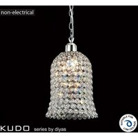 IL60001 Kudo Chrome And Crystal Non Electric Pendant