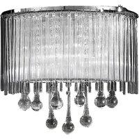 F2161 2 2 Light Modern Crystal Wall Light