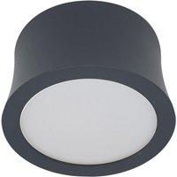 Mantra M6831 Gower 1 Light LED 3000K Warm White Spotlight In Sand Black