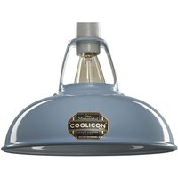 Coolicon 1 Light Small Classic Ceiling Pendant In Sky Blue   Dia  228mm
