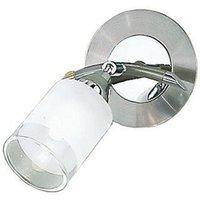 D40021 1 Light Silver Decorative Spotlight