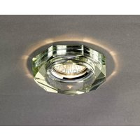 Diyas IL30823WI White Wine Crystal Recessed Hexagonal Downlight Fascia