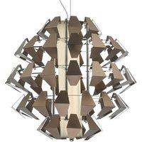 Dar FAL8663 Falcon LED Ceiling Pendant Light In Bronze