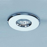 RF187 12v Chrome Recessed Bathroom Fixed Downlight IP65