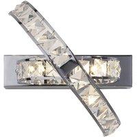 Dar ETE3050 Eternity Chrome Wall Light