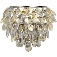 Diyas IL32806 Coniston 1 Light Wall Light In Polished Chrome