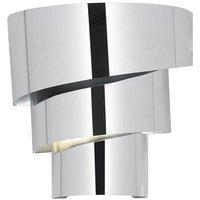 Endon EVERETT 1WBCH 1 Light Triple Tier Polished Chrome Wall Light
