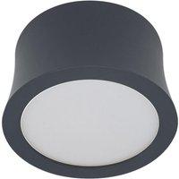Mantra M6833 Gower 1 Light LED 4000K Natural White Spotlight In Sand Black