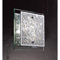 Diyas IL31015 Roveta Decorative Wall Light in Polished Chrome Finish