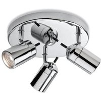 Firstlight 9070CH Atlantic Triple Bathroom Ceiling Spotlight IP44