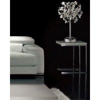 Diyas IL30558 Esme Crystal Table Lamp in Polished Chrome
