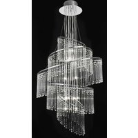 Endon CAMILLE 24CH Contemporary 24 Light Glass Chandelier