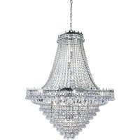 Searchlight 9112-102CC Versailles 19 Light Crystal Chandelier in Chrome