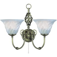 Searchlight 972 2 Cameroon Wrought Iron  Wall Light