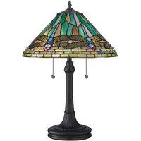 QZ KING TL King Tiffany Bronze Table Lamp