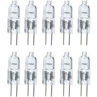 Pack of 10 12v 20 watt G4 Capsules Lamp Bulbs