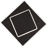 Mantra M6427 Dakla 1 Light LED Wall Light In Black   Length  180mm