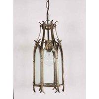 733 Gothic 1 Light Hanging Lantern GOTHIC 733 PB