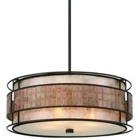 QZ LAGUNA P 4 Light Renaissance Copper Ceiling Pendant
