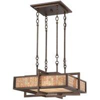 QZ ZENITH P 4 Light Renaissance Copper Ceiling Pendant
