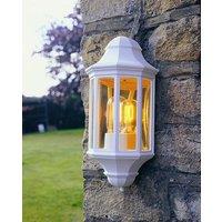 Norlys M8 2 Mini Malaga White Outdoor Wall Lantern