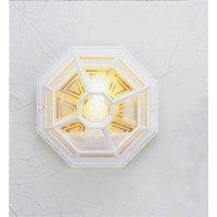 Norlys LA8 WHITE Latina  exterior flush lantern