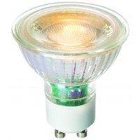 High Quality 5 5 watt LED GU10 COB Warm White  Glass Body