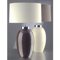 Elstead Victor  35VCS LB37  Table Lamp in Cream Small