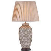Dar LOU4229 Louise Table Lamp, Base Only