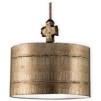 FB FRAGMENT S PL 1 Light Aged Silver Large Ceiling Pendant