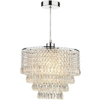 DIO6508 Dionne Beaded Non electric Lampshade