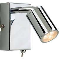 Firstlight 3453CH Orion LED One Light Wall Reading Light In Chrome