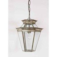 410 LA Bevelled Glass 1 Light Hanging Porch Lantern