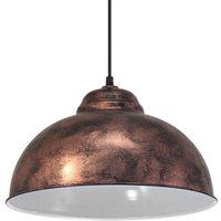 49248 Vintage Copper Hanging Ceiling Pendant Light