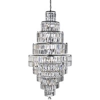 Searchlight 1500CC Empire 13 Light Crystal Chandelier In Chrome