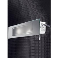 W935 Bathroom Wall Light with Shaver Socket, IP44