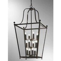 L7005 12 Everett 12 Light Bronze Hanging Lantern