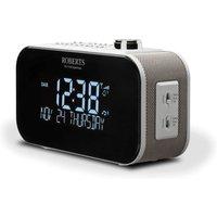 Roberts Ortus 3 DAB/DAB+/FM Alarm Clock Radio in White