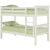 Leo Bunk Bed - Solid Off White