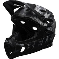 fahrrad/Mountainbikes: Bell  Super DH Mips mattegloss  camo L